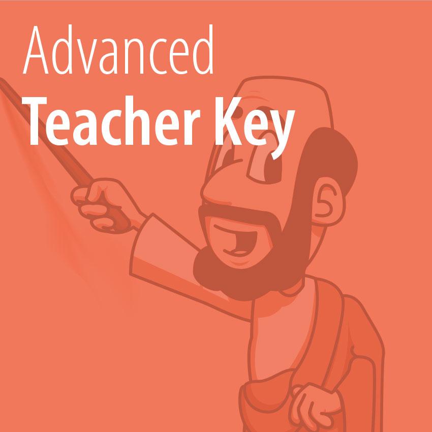 Advanced Teacher Key tile