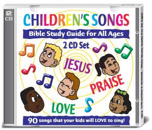 Children's Songs CD cover
